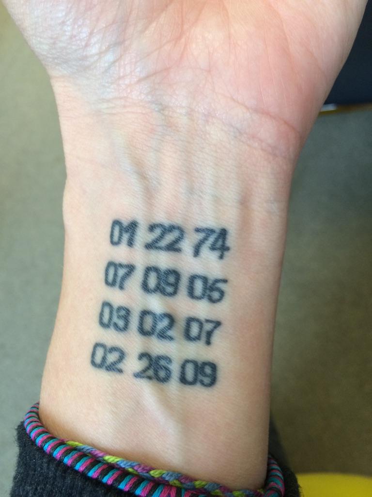 2015-04-27 Sharon Tattoo Dates