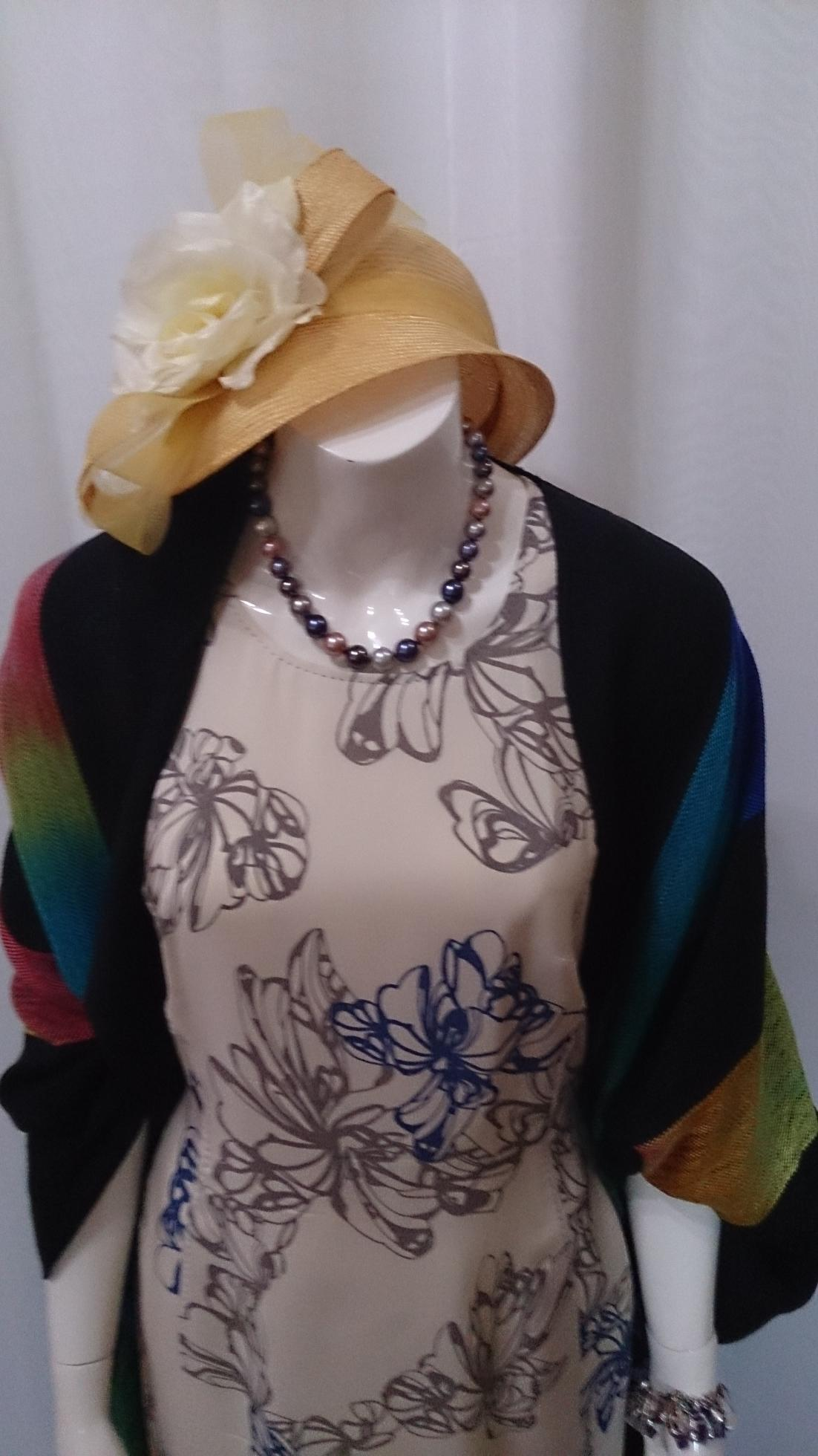 2015-06-02 EE Rainbow Dress CE Necklace with Hat